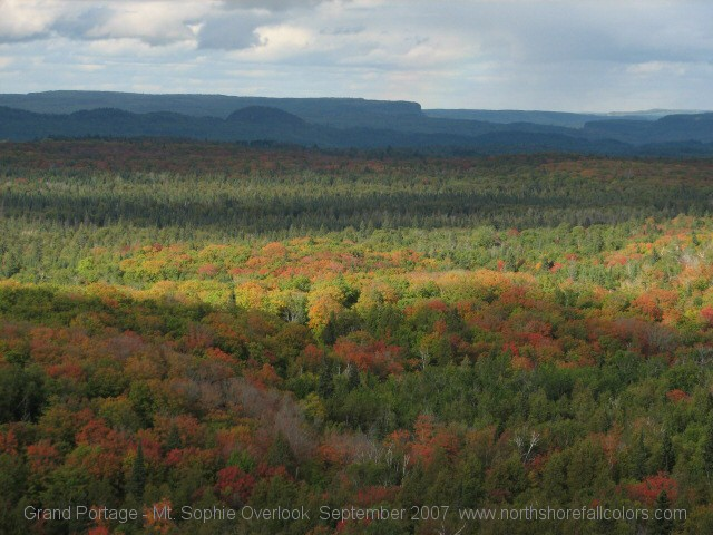 Grand Portage Fall Colors